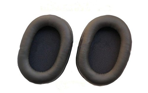 1 pair of Replacement Earpads for Sony WH-1000XM2 WH-1000XM II Headphone (Black)