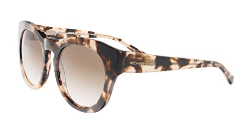 Michael Kors MK2037 322513 (Marble Pink fuschia fuchsia with Brown Gradient - Pink Kors Michael Sunglasses