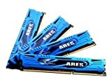 G.SKILL Ares Series 16GB (4 x 4GB) 240-Pin DDR3 SDRAM DDR3 1600 (PC3 12800) Desktop Memory Model F3-1600C9Q-16GAB