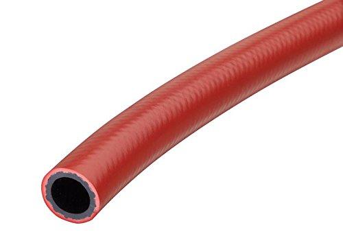 Red Kuriyama BL-16RD Braid Lock Non-Conductive Braided Construction 300 psi Push-On Hose 1.31 OD 1 x 200/' 1.31 OD 1 x 200