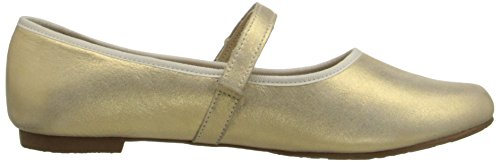 Elephantito Princess Girl's Flat Gold Shoe rR1P6xr