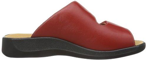 Ganter Monica Weite G 7-202507-41000 - Zuecos de cuero para mujer, color rojo, talla 36 Rojo (Rot (rosso 4100))