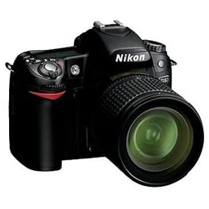 Nikon D80 10.2MP Digital SLR Camera Kit with 18-55mm ED II AF-S DX Zoom-Nikkor Lens