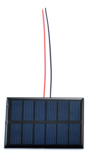 Small Solar Panel 200mA wires product image