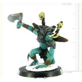 World of Warcraft Miniatures : Frostmane Troll Rare