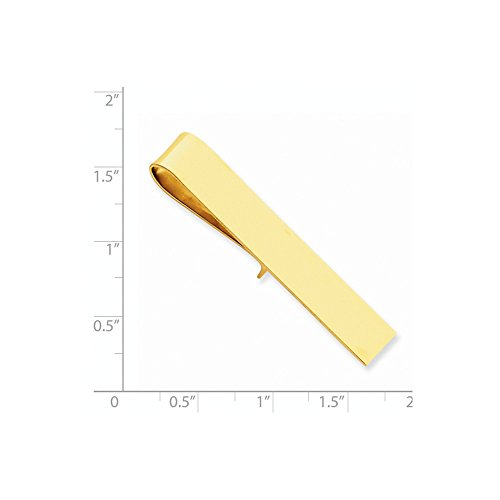 14k Yellow Gold Tie Bar by CoutureJewelers (Image #1)
