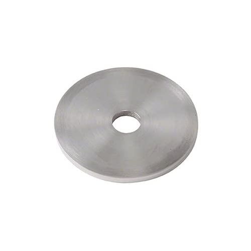 """CRL 1/8"""" Railing Standoff Spacer in 316 Polished Stainless Steel for 2"""" Diameter Standoffs - 10/Pk"""