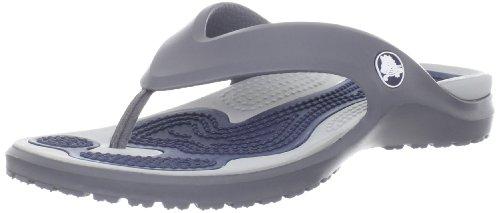 crocs - Chanclas para mujer Charcoal/Light Grey