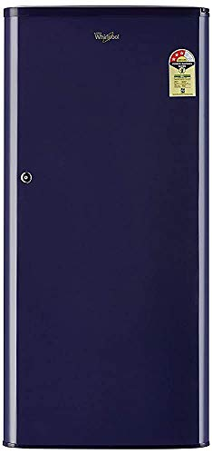 Renewed  Whirlpool 190 L 3 Star Direct Cool Single Door Refrigerator  WDE 205 CLS 3S BLUE cr, Blue
