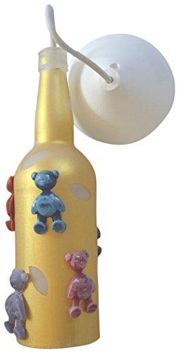 vetreria Biellese Bottle lamp for kids by Vetreria Biellese di Selva e Lanza snc
