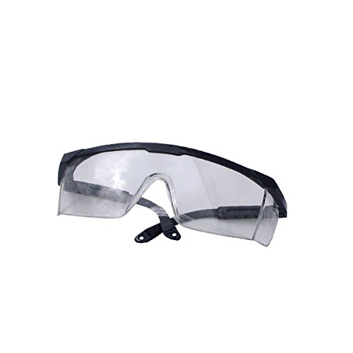 Neiko 53842A Safety Glasses, Clear Polycarbonate Frame | Fully Adjustable Protective ()