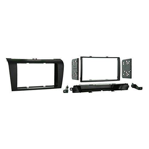 Metra 95-7504 Double Din Installation Dash Kit for 2004-2009 Mazda 3 Install Kit (Metra Dash Kit Mazda)