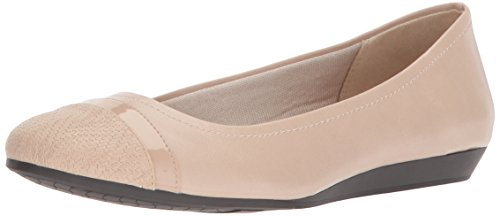 LifeStride WoMen Playful Ballet Flat Soft Taupe