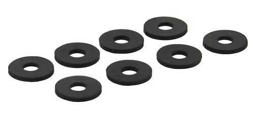 8 unidades Arandelas de goma para amortiguar las vibraciones de disco duro InLine 00244