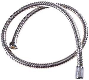 WHZJXB-ZYP 1PCS柔軟シャワーホース1メートルのステンレス鋼配管ホースクロム浴室の水頭シャワーヘッドパイプ