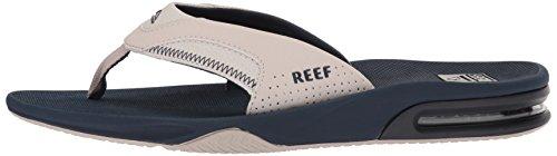 Large Product Image of Reef Men's Fanning Sandal, Navy/Grey, 15 M US