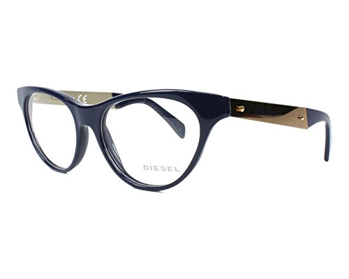 New Deisel Women's Eyeglasses DL5059 090 Havana Cateye 52 MM Glasses