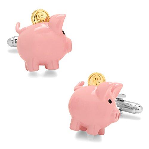 Cufflinks 3D Piggy Bank