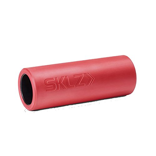 Trainer Roller - SKLZ Barrel Roller (Smooth) - Ultra-Durable Portable Massage Roller (Red, Standard)