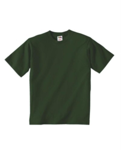 Youth 5 oz. HD Cotton T-Shirt (FOREST GREEN - FOREST GREEN M) ()