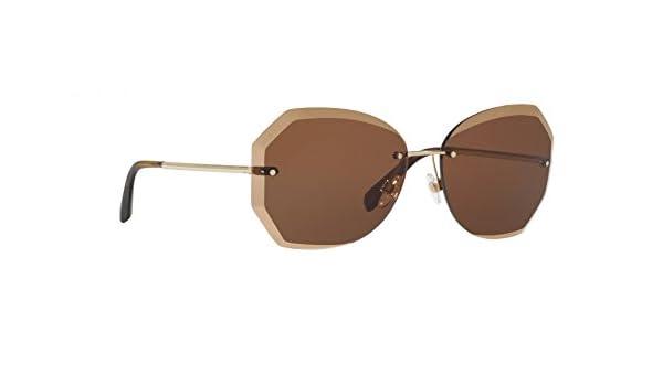 Chanel - Gafas de sol - para mujer Marrón marrón 52: Amazon ...