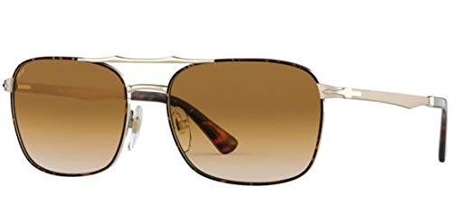 46a1efd4d9 Image Unavailable. Image not available for. Color  Persol PO2454S 107551  Gold Havana PO2454S Rectangle Sunglasses Lens Category