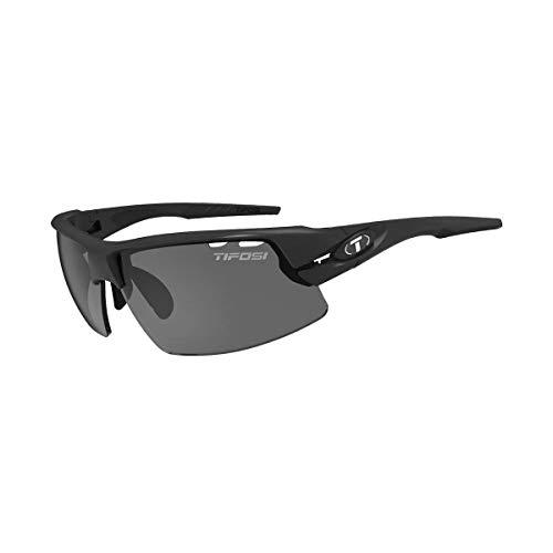 (Tifosi Crit, Matte Black Interchangeable Sunglasses)