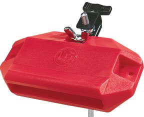 (LP Latin Percussion LP1207 Low Pitch Red Jam Block)