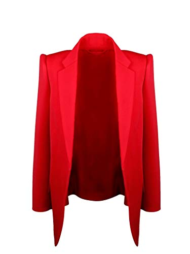 Balenciaga Luxury Fashion Womens 595125TGT036010 Red Blazer   Fall Winter 19
