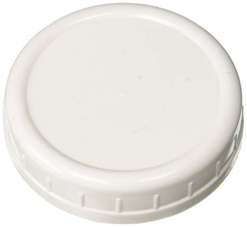 Ball Storage Caps 8-Count Regular Mouth Jar & 8-Count Wide Mouth Jar Combo (16-Caps Total) ()