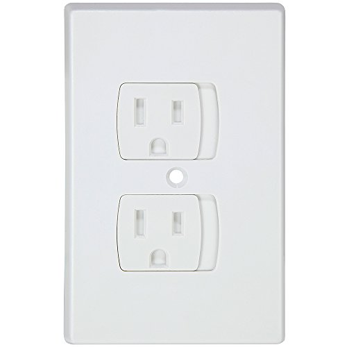 Jambini Self-Closing Outlet Covers - An Alternative To Socket Plugs - 3 pack by Jambini (Image #2)