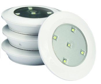 Lightmates 6 led puck lights with wireless remote and baterries lightmates 6 led puck lights with wireless remote and baterries aloadofball Gallery