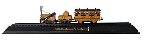 1829 Stephenson Rocket - Stephenson's Rocket - 1829 Diecast 1:76 Scale Locomotive Model (Amercom OO-27)