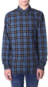 ASPESI Aspessi - Camisa para Hombre, Cuadros Azules, S: Amazon.es: Deportes y aire libre