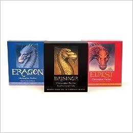 Inheritance Trilogy Eragon Eldest Brisingr Christopher
