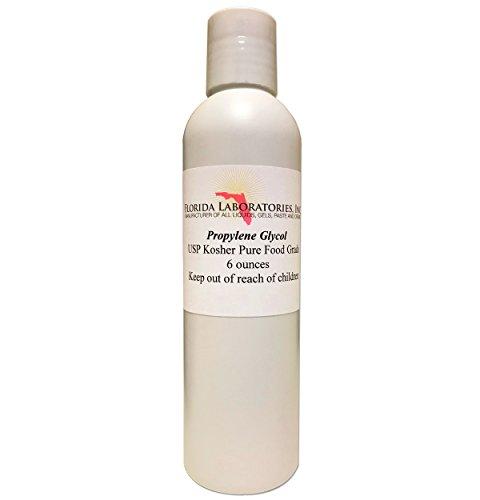 (One Bottle 6 oz of Propylene Glycol USP PG Kosher 99.9% Pure Food Grade)