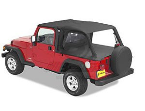 Header Safari Bikini Black Diamond 2004-2006 Jeep LJ Wrangler Unlimiteds 52544-35 ()