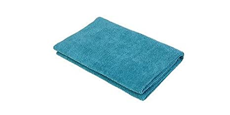 Norwex Antibacterical, antimicrobiano, de microfibra baño y toallas de mano (azul, 1