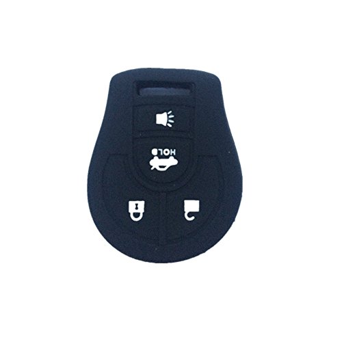 1x-New-Black-Silicone-Key-Jacket-Key-Case-4-Buttons-Remote-Fob-Skin-Silicone-Cover-Key-Case-Holder-Bag-for-NISSAN-Maxima-Altima-Sentra-Versa-Key-Case-Fob-4-Buttons