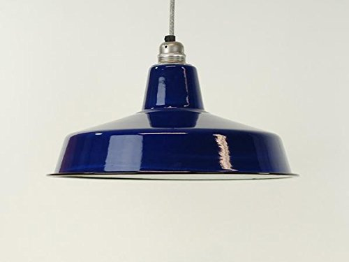 warehouse style lighting. Classic True Blue Large Industrial Enamel Vintage Factory Warehouse Style Light Lamp Shade Lighting H