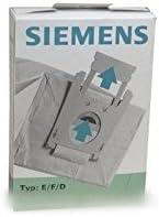 Siemens – Bolsita Bolsas Aspiradora (X5) Type E/F/D para aspiradora Siemens: Amazon.es: Hogar