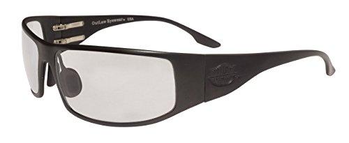 Fugitive TAC Black Frame, Transition Day-Night - Outlaw Sunglasses