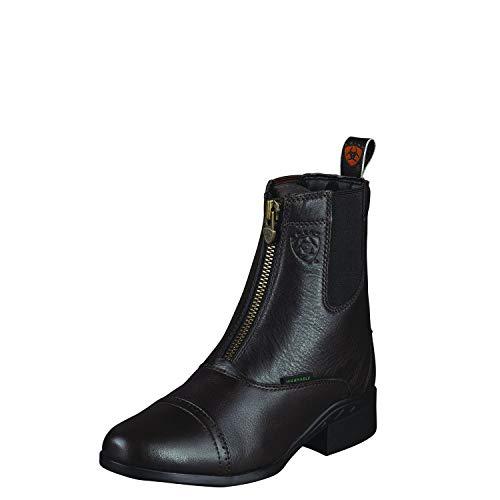 Ariat Ladies Breeze Zip Paddock Boots, Size 8, Chocolate