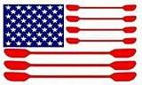 **KAYAK FLAG** Kayaking Window Decal