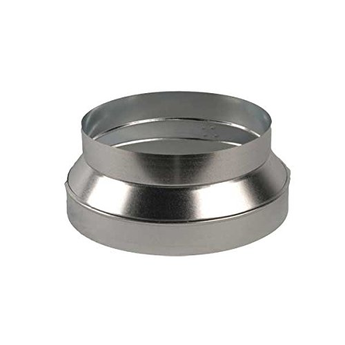 """UPC 627249050025, Continental Fan Manufacturing DRI-08-06 6"""" - 8"""" Galvanized Steel Duct Reducer /I, N/A"""