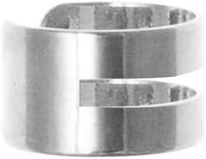 Simple 925 Sterling Silver Ear Cuff (non-pierced) clip on helix earring