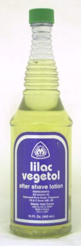 (Master Well Comb Lilac Vegetol After Shave Lotion 15)