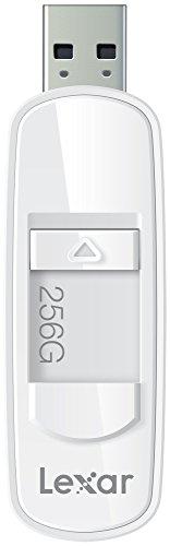 Lexar JumpDrive S75 256GB USB 3.0 Flash Drive - LJDS75-256ABNL (White) by Lexar