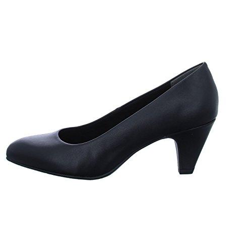 Tamaris 22416-21, Escarpins Femme Noir (Black Matt 20)