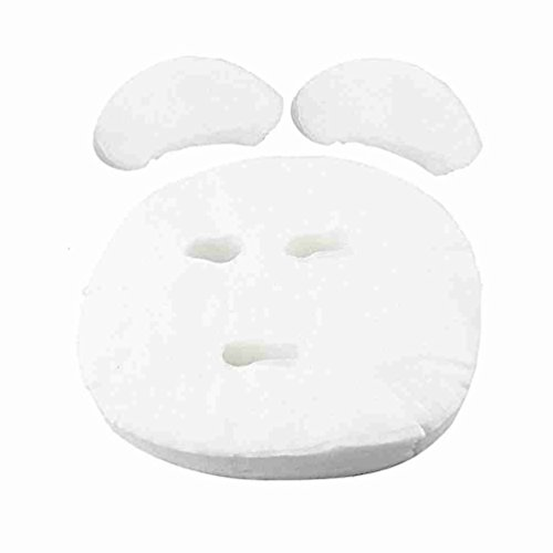 Ladies 100 Pcs Enlarged Face Care Cosmetic Mask Sheet